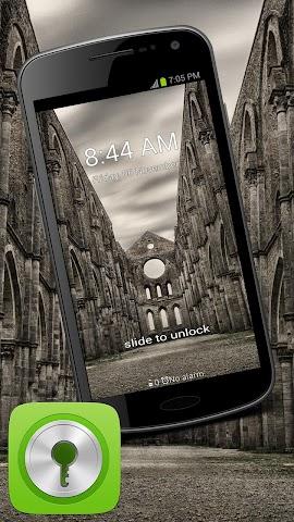 android GO Locker Theme Epic Castle Screenshot 0