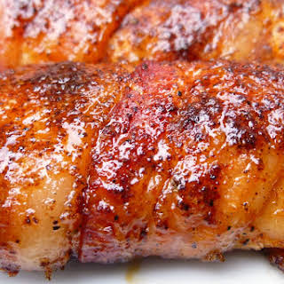 Bacon-Wrapped Chicken Tenders.