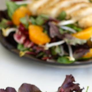 Sesame Chicken Tangerine Salad