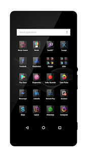 Six Black Theme + Icons- screenshot thumbnail