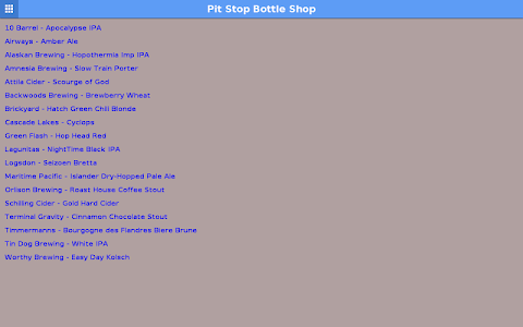 Pit Stop Bottle Shop screenshot 3