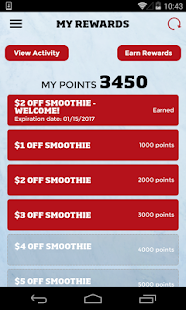 Smoothie King Rewards- screenshot thumbnail