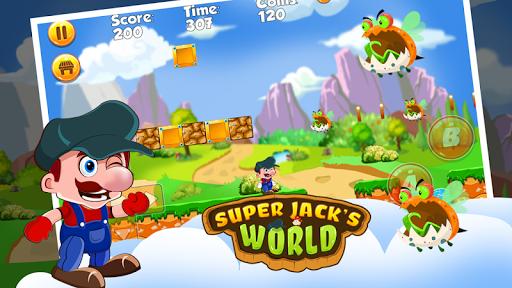 Super Jack's World - Super Jungle World screenshot 3
