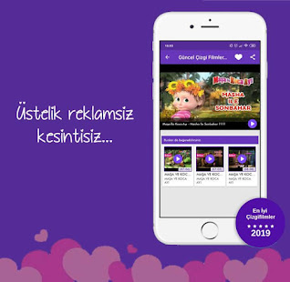 Download Güncel Çizgi Filmler - REKLAMSIZ For PC Windows and Mac apk screenshot 3