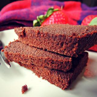 Fudgy Grain-Free Cocoa Brownies.