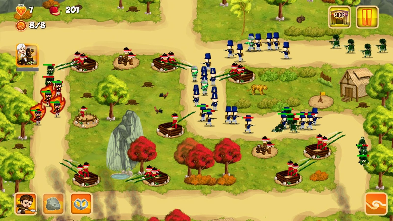 Diponegoro tower defense android apps on google play