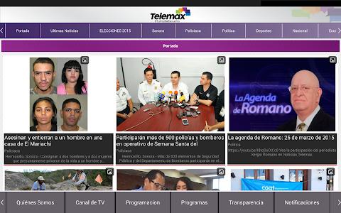Telemax Sonora screenshot 4