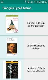 Français lycée Maroc - náhled