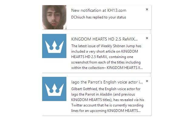 KH13.com, for Kingdom Hearts