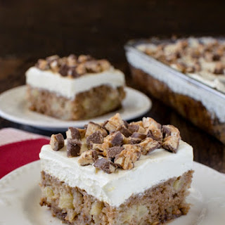 Apple Snickers Cake Recipe