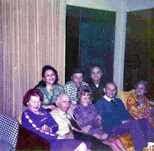 Photo: (T) Gloria Metzner Anazalone, Sam Anzalone, Robert Marks, (B) Ruth Goldman Heyman, Leo Heyman, Jeanne Marks, Leo Metzner, Celia Heyman Marks