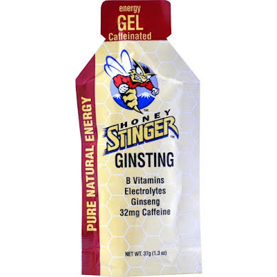 Honey Stinger Energy Gel: Ginsting, Box of 24