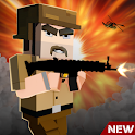 Blocky American: Gangster Shooting Criminal icon