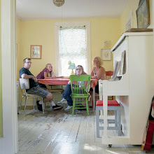 Photo: title: Amy Ray, Mike, Liliana & Beatrix Stewart, Monmouth, Maine date: 2011 relationship: friends, art, met through old school Portland years known: 20-25