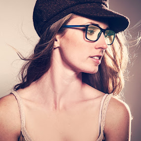 by Adrian Chinery - People Portraits of Women ( fashion, glasses, female, woman, lady, beauty,  )