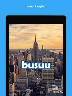 Learn to speak English with busuu- screenshot thumbnail