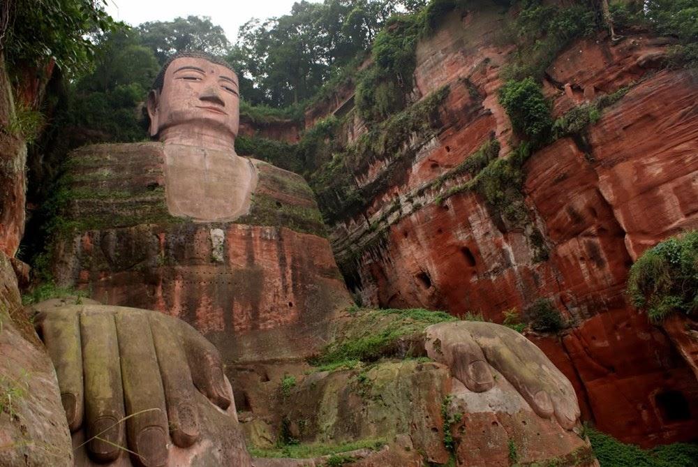 O grande Buda de Leshan