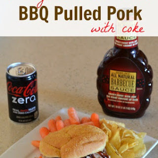 Slow Cooker Pulled Pork with Coke.