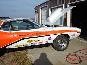 Photo: Brock Philip's race car