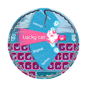 Download Full Lucky cat GO Keyboard  APK
