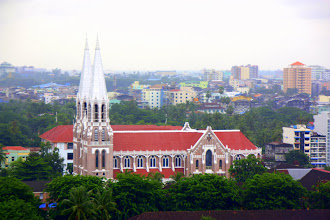 Photo: Year 2 Day 54 - St. Mark's Cathedral in Yangon