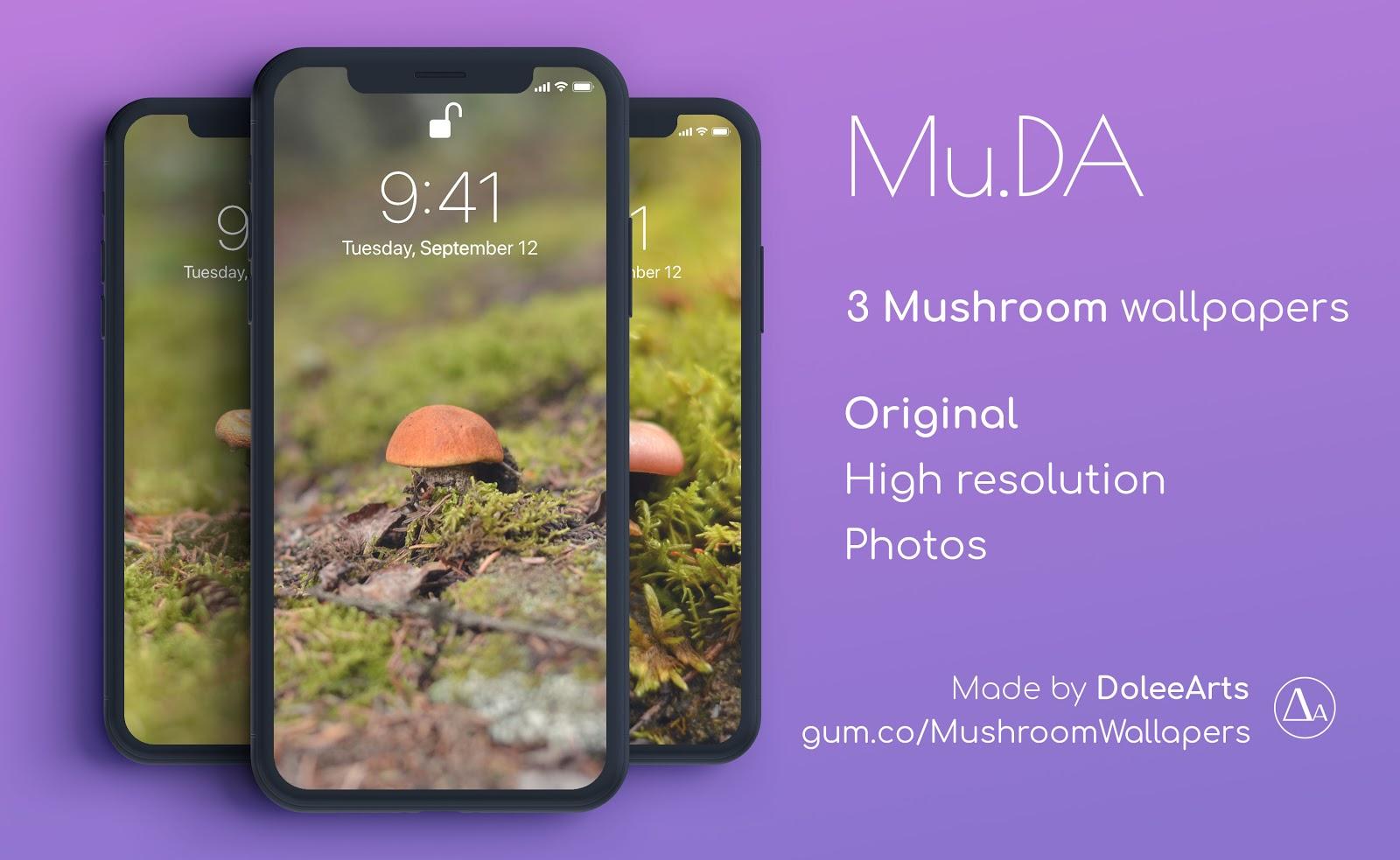 Mu.DA: Mushroom Wallpapers