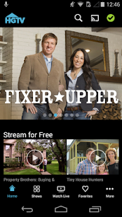 Watch HGTV- screenshot thumbnail