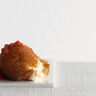 Fried Mozzarella Balls recipe | Epicurious.com.