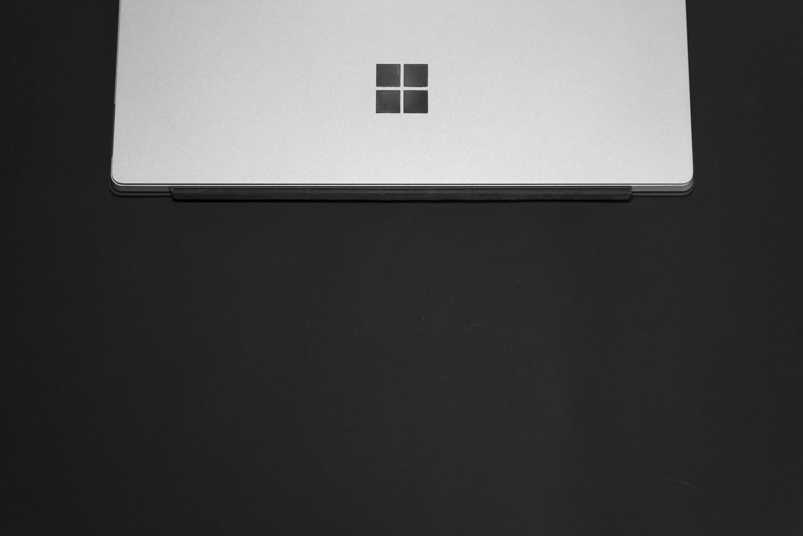 Microsoft tablet.