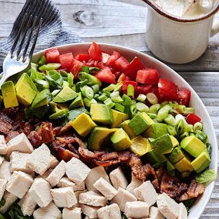 Turkey Club Chopped Salad with Aioli Vinaigrette Recipe