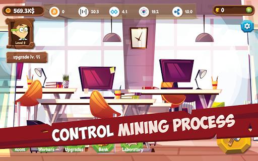 Mining Simulator - Idle Clicker Tycoon apktram screenshots 4