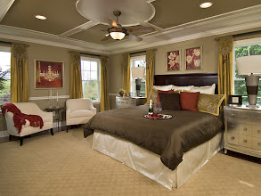 Photo: The master bedroom in our STUYVESANT model home at Greyledge Estates, Albany, New York