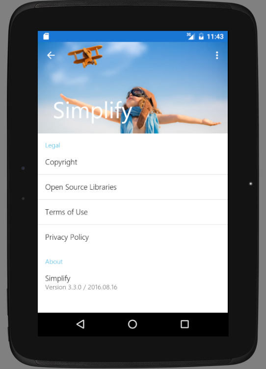 Simplify- screenshot