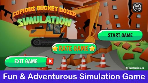 Copious Bucket Dozer: Excavator Simulator filehippodl screenshot 8