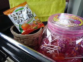 """Photo: """"ヤマグチさん""""たくさんの「アメ玉」 ありがとうございました! みんなで食べます!"""