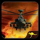 Gunship Helicopter Battle Strike: Extreme War icon