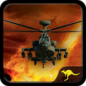 Gunship Helicopter Battle Strike: Extreme War