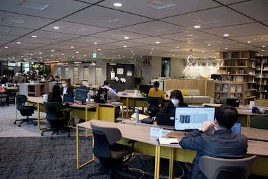 東急Re・デザインが、コロナ禍に対応した新しいオフィスを「ライブオフィス用賀」で提案