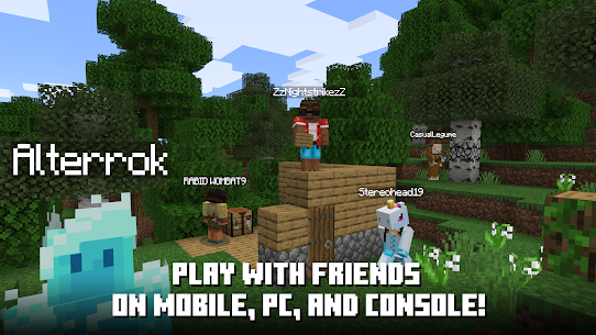 Minecraft Mod Apk 1.16.210.53 (Premium Skins + No Damage) 5