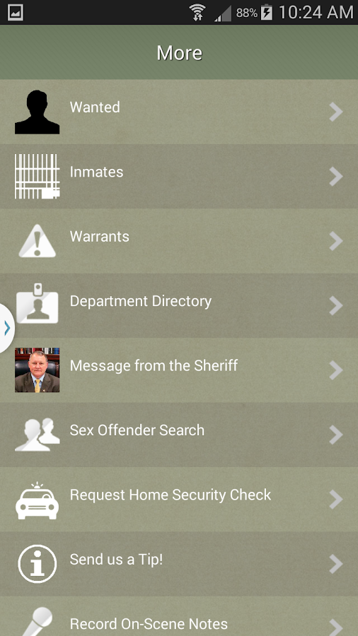 Pulaski County Sheriff- screenshot