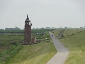 Photo: Alter Leuchtturm bei Dagebüll