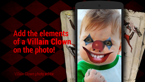 Villain clown photo you