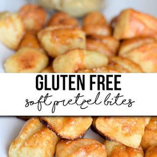 Gluten Free Soft Pretzel Bites.