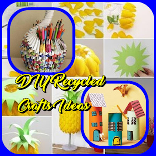 DIY Recycled Crafts Ideas - náhled