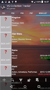 Game Collection Tracker Pro - náhled