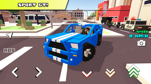 Blocky Car Racer 1.24 screenshots 1