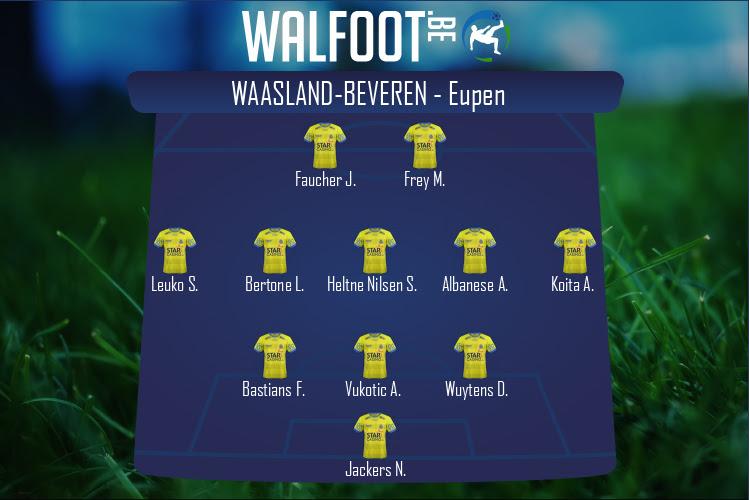 Waasland-Beveren (Waasland-Beveren - Eupen)