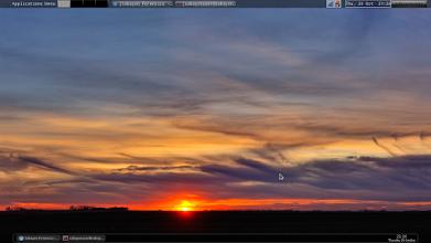 Photo: Tonight's desktop :-)