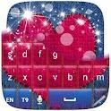 Pink Keyboard Heart icon