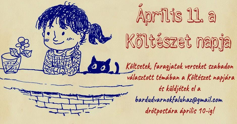 Április 11. a Költészet napja